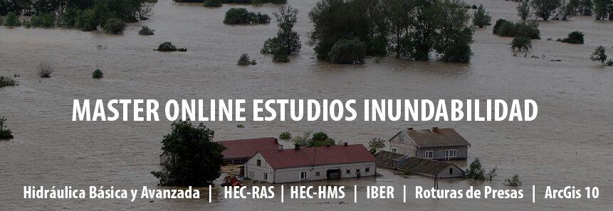 MASTER en Estudios de Inundabilidad