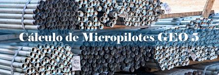 Cálculo Micropilotes con GEO5