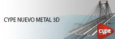 CYPE NUEVO METAL 3D