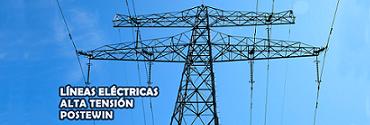 Líneas Eléctricas Alta Tensión Postewin
