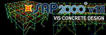 SAP2000 Vis Concrete Design