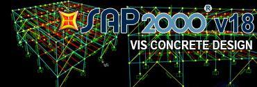 SAP2000 Vis Concrete Design