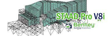 STAAD PRO V8 Cálculo de Estructuras