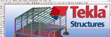 TEKLA STRUCTURES v20.0 - Nave Industrial
