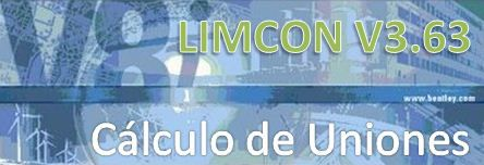 LIMCON v3. Cálculo de Uniones